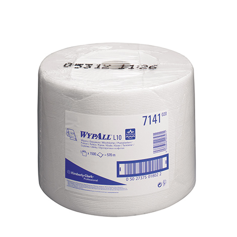 Wischtücher Großrolle Kimberly Clark® WYPALL L10, 235x380mm (BxL)