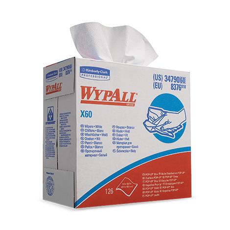 Wischtücher Kimberly Clark® WYPALL X60, 425x230mm (BxL)