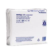 Wischtücher Kimberly Clark® WYPALL X70, viertelgefaltet, 410x380mm (BxL)