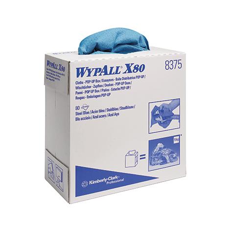 Wischtücher Kimberly Clark® WYPALL X80, 425x230mm (BxL)