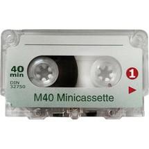 WMC Diktierkassetten Mini