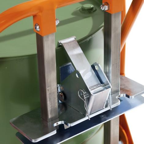 Wózek beczkowy na lufy PE o pojemności 60 do 220 litrów