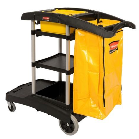 Wózek do czyszczenia Rubbermaid® o dużej pojemności