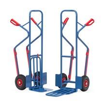 Wózek do paczek fetra®, ze składaną półką