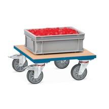 Wózek na skrzynie fetra® z platformą drewnianą