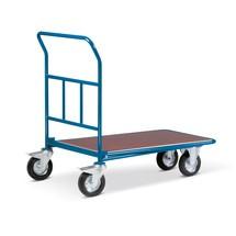 Wózek pieniężno-transportowy, powierzchnia załadunkowa, szer. 610 x 1,010 mm