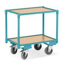 Wózek piętrowy, skrzyniowy Ameise®. Udźwig 250 kg. 2 powierzchnie ładunkowe 604 x 410 mm.