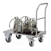 Wózek platformowy Ameise alu, skladany dyszel, udzwig 150kg
