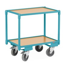 Wózek rolkowy Ameise, udzwig 200kg, 2 pow. lad. 604x410mm