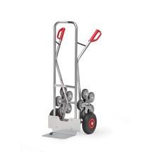 Wózek schodowy fetra®, 5-ramienna gwiazda kół