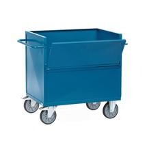 Wózek skrzyniowy fetra® ze ścianami z blachy stalowej