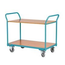 Wózek stołowy Ameise®, z 2 piętrami