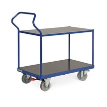 wózek stołowy Ergotruck®, podtynkowe powierzchnie załadunkowe