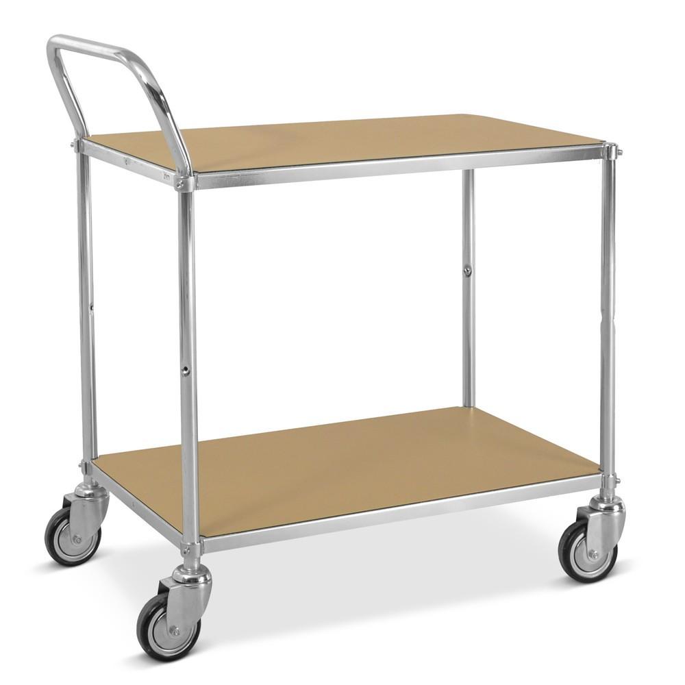 Wózek stołowy ESD, 1 kabłąk