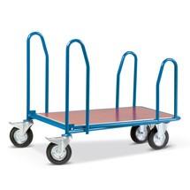 Wózek transportowy Cash 'n', z uchwytami bocznymi, powierzchnia załadunkowa, szer. szer. x gł. 810 x 1.210 mm
