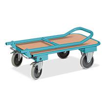 Wózki platformowe Ameise® z uchwytem składanym. Różne rozmiary. Udźwig 150 lub 250 kg.