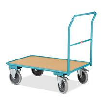 Wózki platformowe Ameise® z uchwytem stałym. Udźwig do 400 kg. Różne rozmiary.
