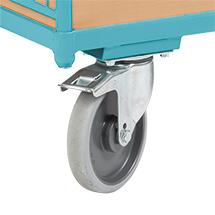 Wózki platformowe Ameise® z uchwytem stałym. Udźwig do 500 kg. Różne rozmiary.