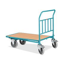 Wózki platformowe Cash & Carry Ameise®. Udźwig do 500 kg. Różne rozmiary.