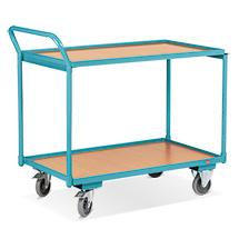 Wózki stołowe Ameise®. Udźwig 250 kg. 2 lub 3 powierzchnie ładunkowe. Różne rozmiary.