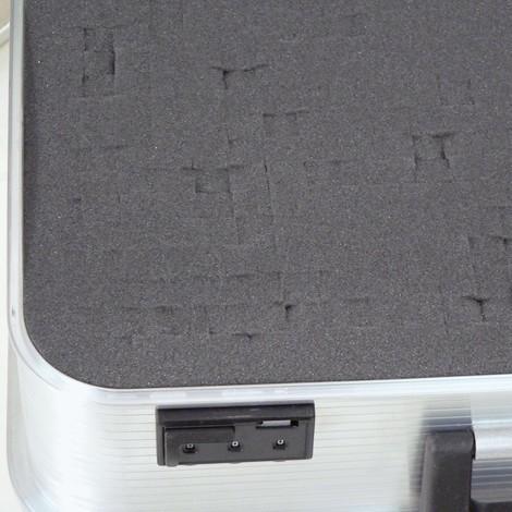 Würfelschaum für Alu-Gerätekoffer