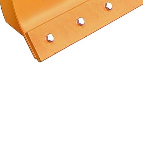Wymienna listwa zgarniająca ze stali do doczepianego do wózka widłowego pługu śnieżnego Profi