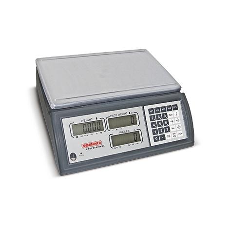 Zählwaage SOEHNLE mit Speicher + USB-Schnittstelle. Wägebereich bis max. 45kg