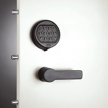 Zamek elektroniczny do szaf bezpiecznych C+P, zpolem przycisków