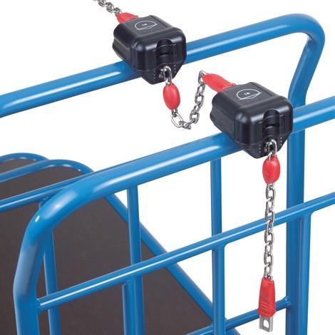 Zamek na kaucję do wózka Cash-'n'-Carry fetra®