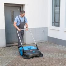 Zametač Steinbock® Turbo, manuálna prevádzka
