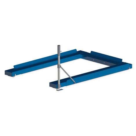Zariadenie na výsuv paliet, podlahový model