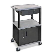 Zásuvka pro plastový transportní vozík