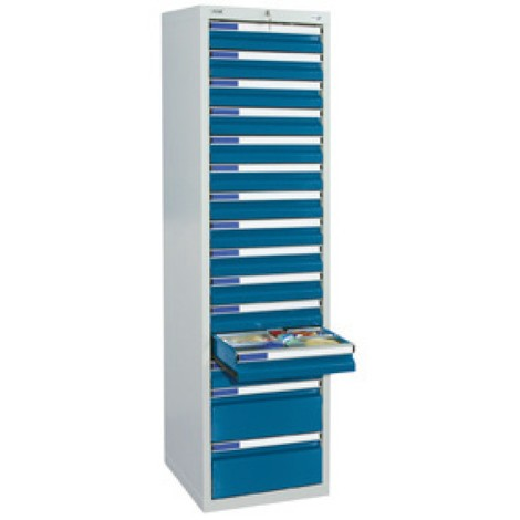 Zásuvková skříň stumpf® Premium, výška 1800 mm