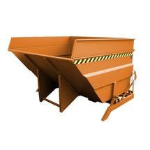 Zbiornik przechylny, konstrukcja o dużej objętości, malowany, pojemność 4 m³