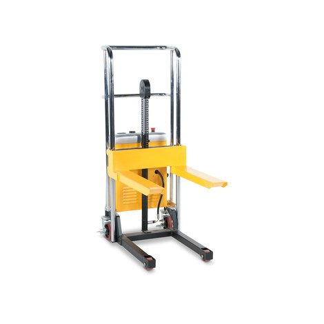 Zdvíhací vozík s plošinou, elektrický