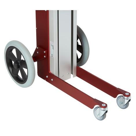 Zdvíhacie zariadenie HOVMAND s drevenou platformou, nosnosť 70 kg