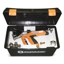 Zestaw do pakowania: pistolet gazowy do obkurczania folii termokurczliwej + wózek na butlę z propanem