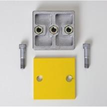 Zestaw montażowy do przedłużenia belek przeciwuderzeniowych