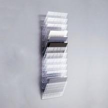 Zestaw półek na prospekty DURABLE Flexiboxx