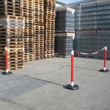 Zestaw stojaków Premium do łańcucha, do użytku wewnątrz pomieszczeń