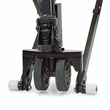 Zijsteunwielen voor schaarhefwagen Jungheinrich ® AMX + AMX-E