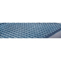Zusatz-Gitterrost für Fassregal CEMO mit GFK-Auffangwanne für Gefahrstoffe