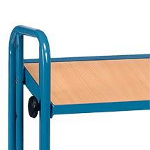 Zusatzboden für Kommissionier-Etagenwagen fetra®, Ladefläche 1250x610mm