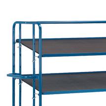 Zusatzboden für Kommissionier-Etagenwagen fetra®, Ladefläche 1650x610mm