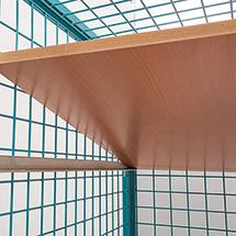 Zusatzboden für Schrankwagen Ameise®, HxBxT: 25x1195x780 mm