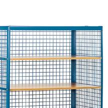 Zusatzböden für Tischwagen und Etagenwagen fetra®. Länge bis 1200 mm