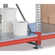 Zusatzebene für Weitspannregal META, mit Stahlpaneelen