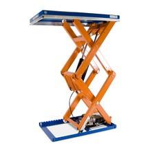 Zvedací stůl EdmoLift® řady T s dvojitým nůžkovým mechanismem