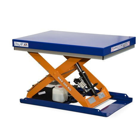Zvedací stůl EdmoLift® řadyC snůžkovým mechanismem