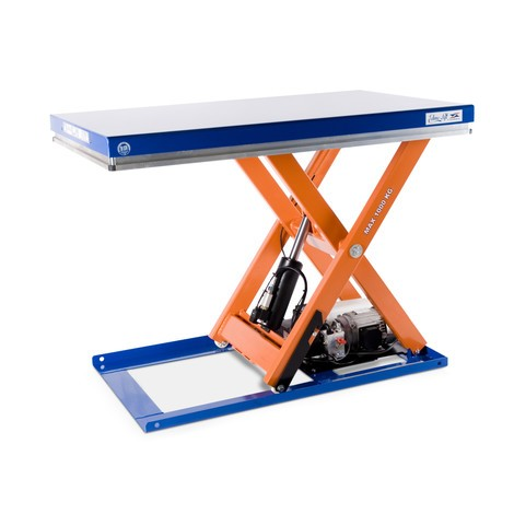 Zvedací stůl EdmoLift® řadyT snůžkovým mechanismem